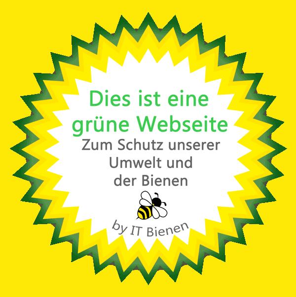 Grüne Webentwicklung Siegel